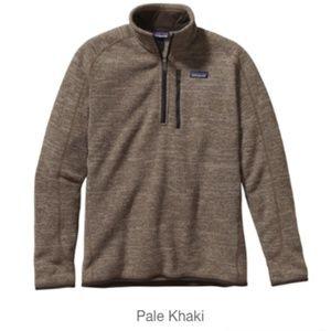 Patagonia Better Sweater Pale Khaki Size M